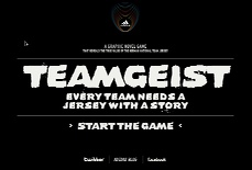 Teamgeist | Every team needs a jersey with a story
