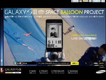 SPACE BALLOON PROJECT
